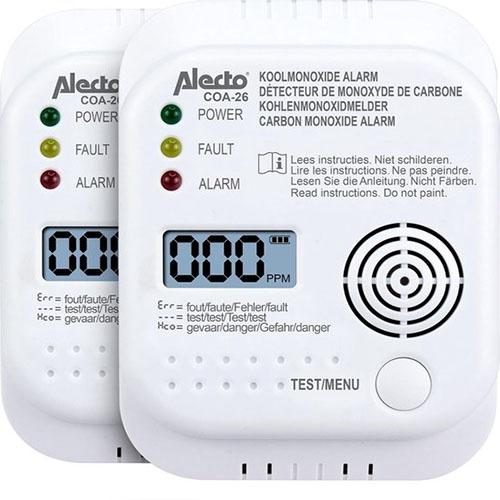 Alecto COA-26 Koolmonoxidemelder Review