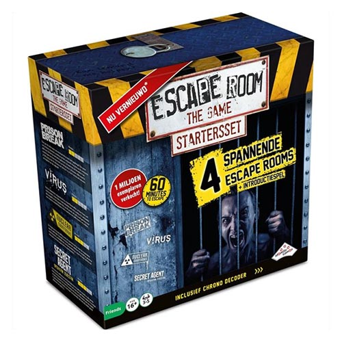 Escape Room The Game Bordspellen Review