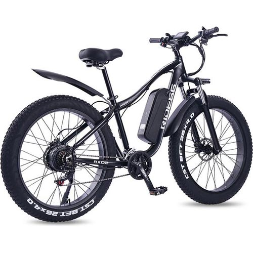 Fat Elektrische Mountainbike Ebike Review