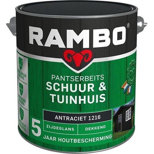 Rambo Schuur & Tuinhuis Verf Voor Buiten Review