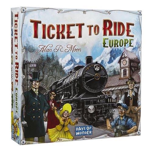 Ticket to Ride Europe Beste Bordspellen Test